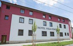 Hotel Villa EDEN - pohled z ulice